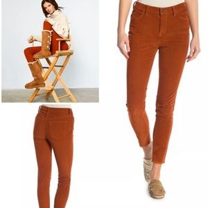 Free People+Corduroy Pants+Fired Chestnut